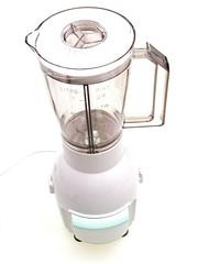 juice mixer isolated on white background