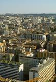 Paris birds view from Eifell tower poster