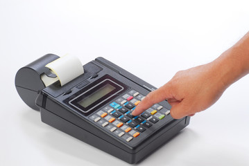 credit card charging machine