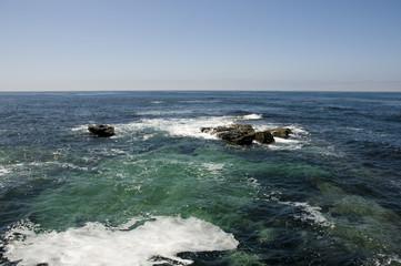 Pacific Ocean in La Jolla, California