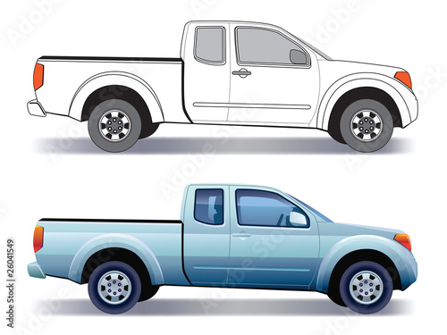 Pick-up truck - 26041549