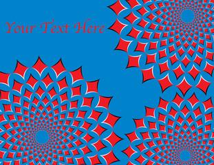 Red Diamond Expand-O  (motion illusion)
