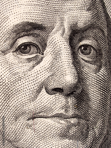 Stock Macro Photo of U.S. Currency