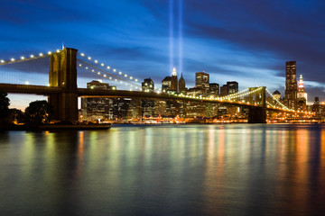 911 Light Memorial in New York City