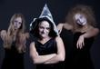 three halloween personages