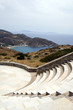 amphitheater Milopotas Mylopotas beach Aegean sea Ios Greek isla