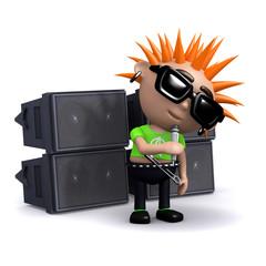 3d Punk sings