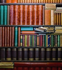 LIbrary of books in Bulla, Murcia, Spain