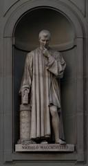 Niccolo Machiavelli statue, Florence