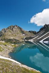 Lago Pietra Rossa, Valle d'Aosta, Italy