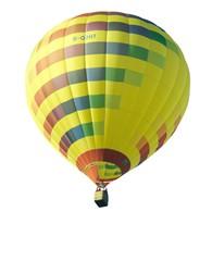 Fesselballon (freigestellt)