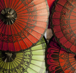 Asian umbrellas