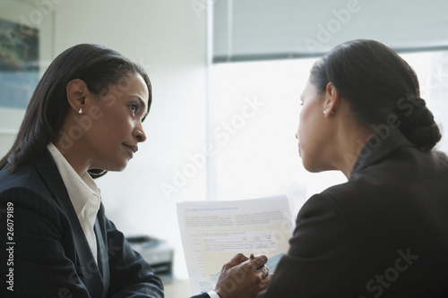 Businesswoman working together