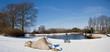 1. Wochenende mit Petra im Schnee campen