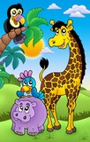 Group of various African animals 1