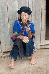 Ethnic group Lo Lo Pho in Laos