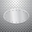 elipse metal plate