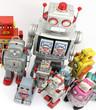 retro robots group