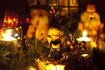 Weihnachten im Erzgebirge mit Engel