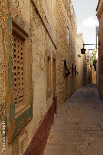 Street in Mdina, Malta