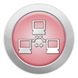 """Light Colored Icon (Red) """"Network"""""""
