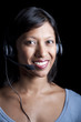 Indian telephone support agent