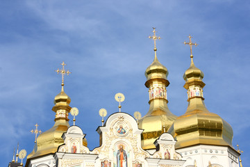 Kiev - famous Pecherska Lavra Monastery