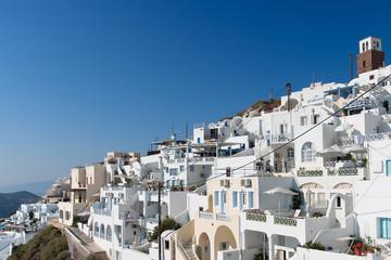 Häuser auf Santorini