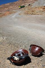 caschi da minatore