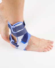 stabilizing orthosis, feet support