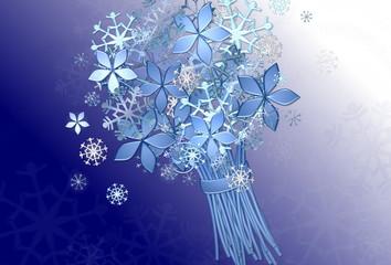 Winterlicher Blumenstrauß
