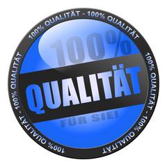 100% Qualität - blau
