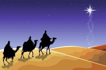Religious Christmas - The Three Wise Men