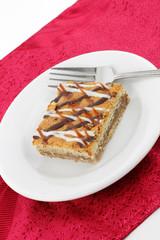 Macaroon Dessert Square