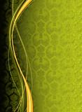 Vertical Green Wallpaper Background