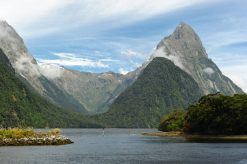 Landscapes of New Zealand - Milford Sound