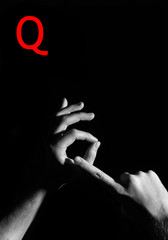 "Finger Spelling the Alphabet - Letter ""Q"""