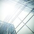 modern glass skyscraper perspective view - 26118927