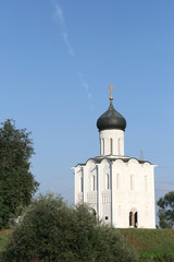 Church on Nerl river in Bogolyubovo Russia