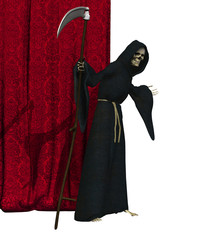 Grim Reaper - Final Curtain - 3D render
