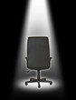 office chair under light