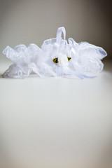 Wedding garter of the bride