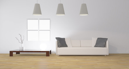 stanza  con divano