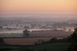 Morning mist over Staffordshire