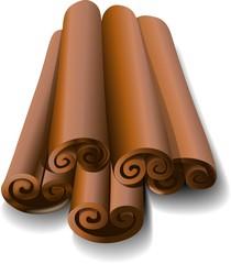 Cannella-Cinnamon-Vector