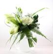Roses balnches et Lys