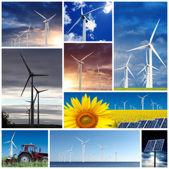 energia alternativa collage