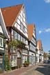 Die Bäckerstraße in Rinteln an der Weser