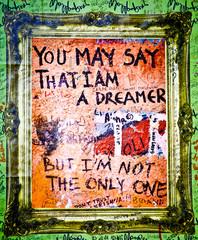 Muro de John Lennon - Dreamer (Praga) Toma 2