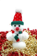 Muñeco de nieve.Adornos navideños